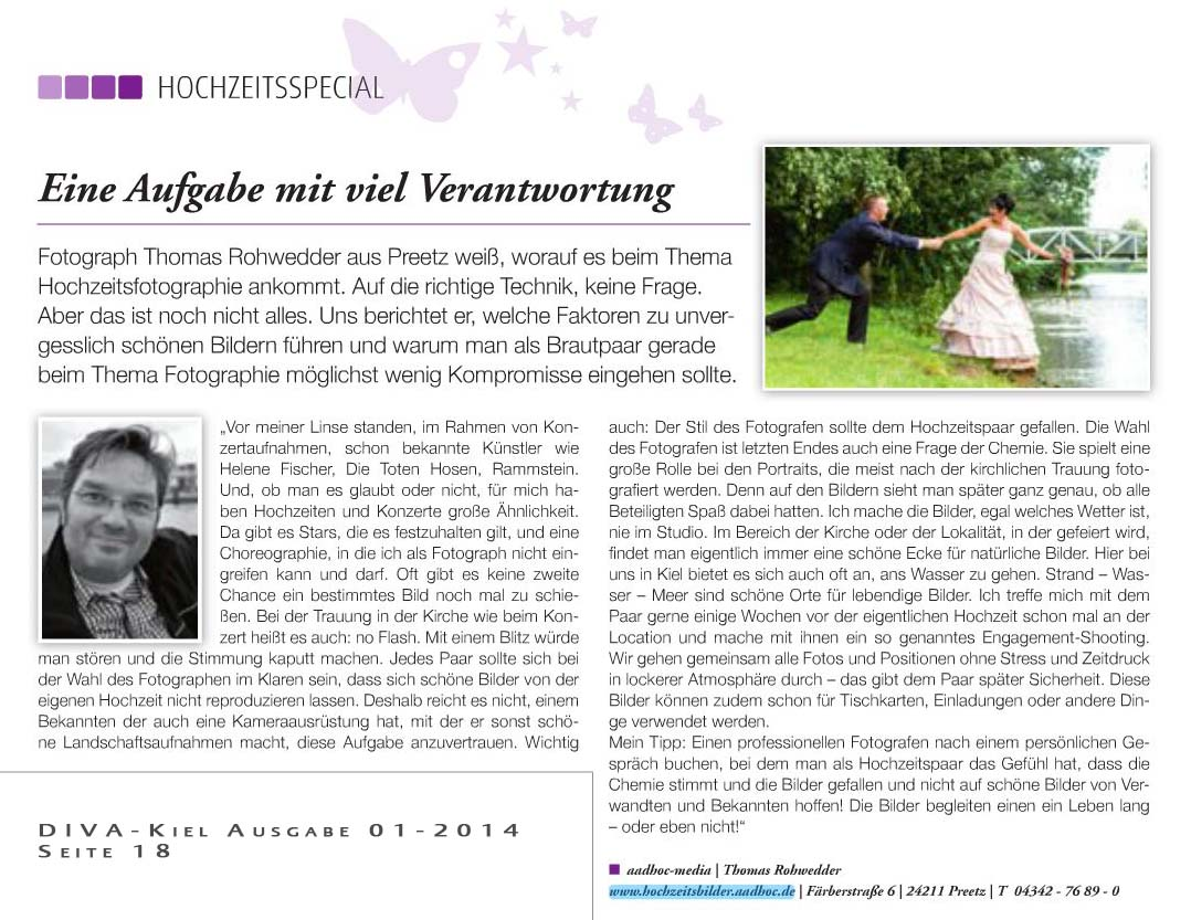 Diva februar 2014 by Kieler Magazin Verlag