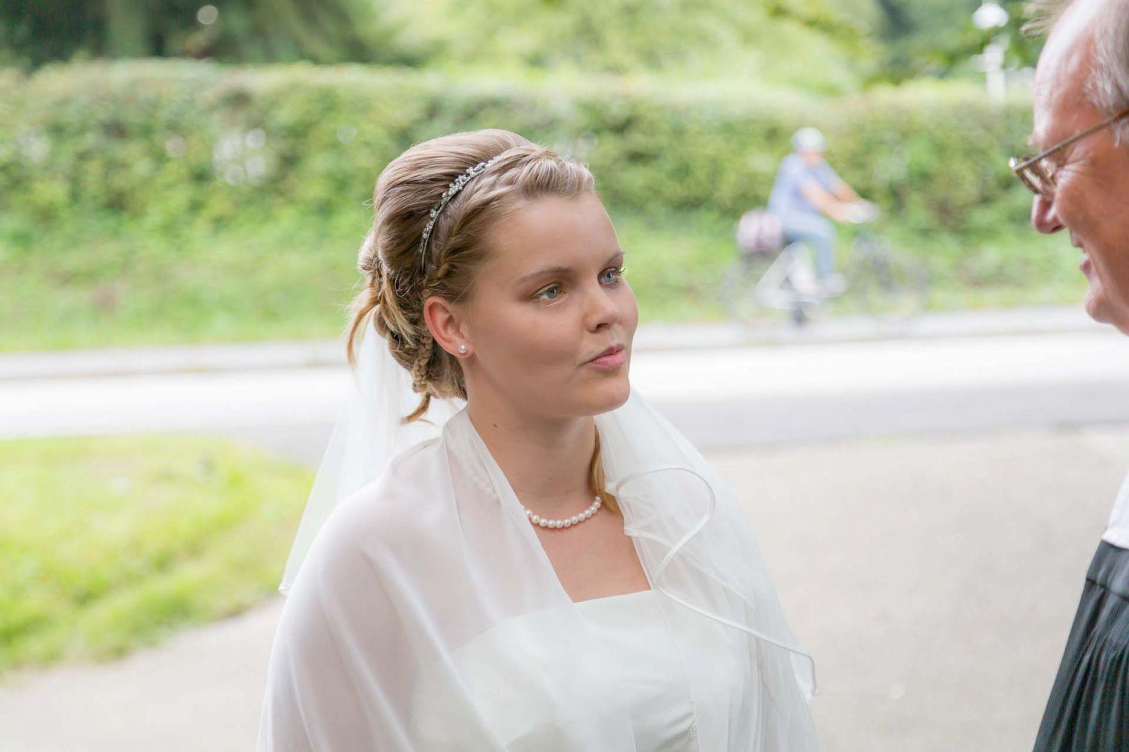 Die Braut - Hochzeit in Spohienhof bei Preetz von Kerstin und Sebastian aus Hamburg
