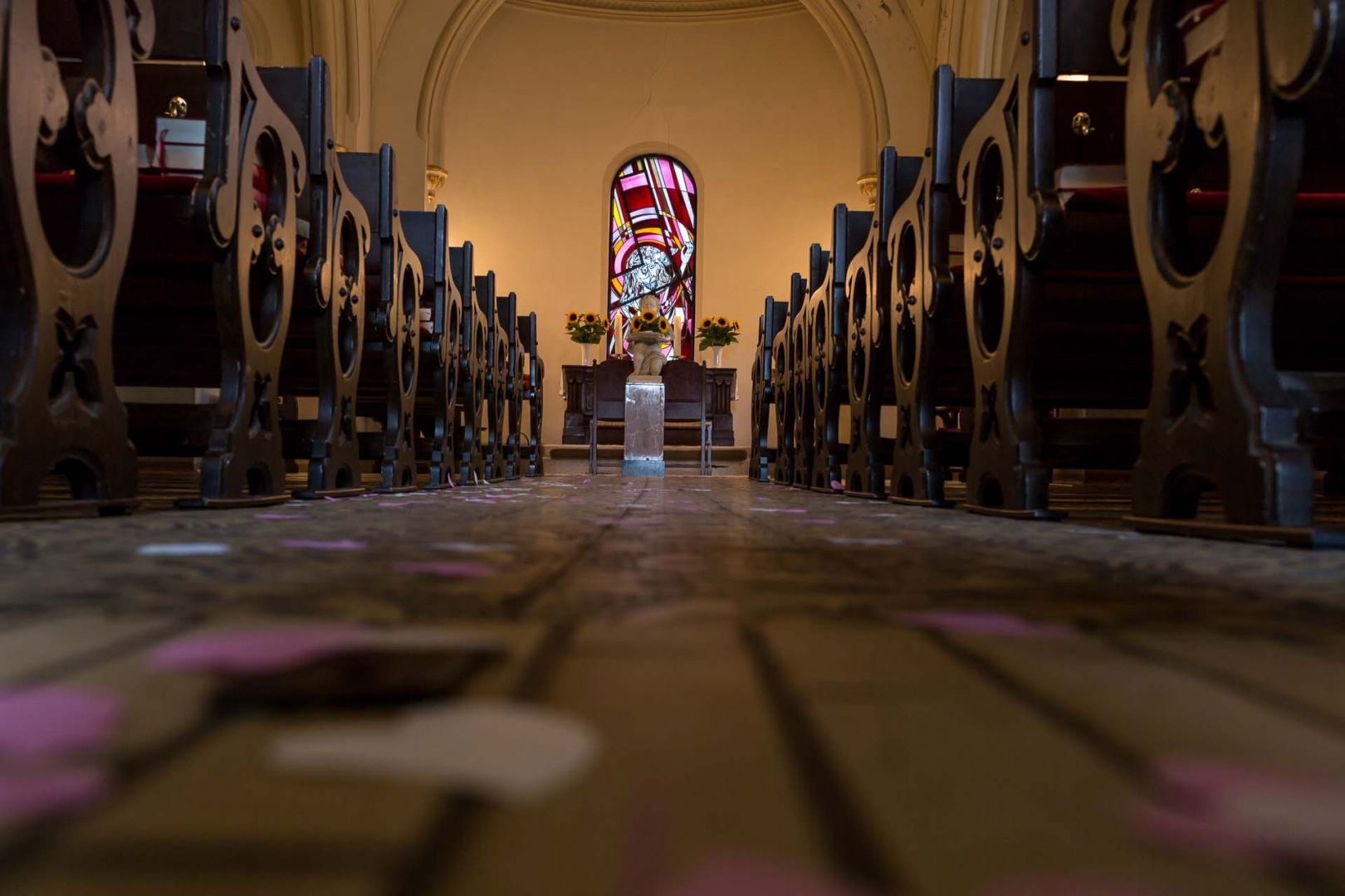 In der Kapelle - Hochzeit in Spohienhof bei Preetz von Kerstin und Sebastian aus Hamburg